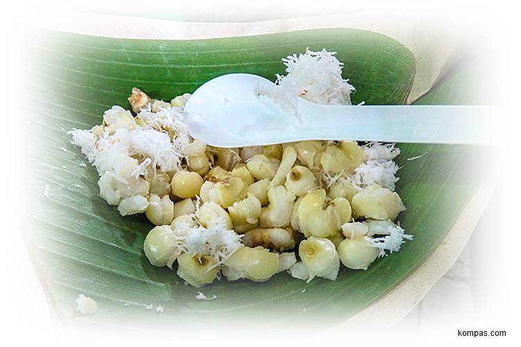 makanan grontol jagung