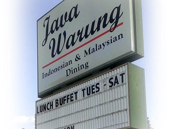 American Restaurant with The Menu of Typical Indonesian Food